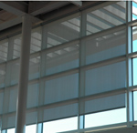 Custom Roller Shades for Commercial Properties Dallas Ft Worth TX