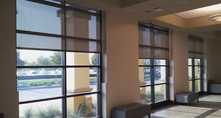Commercial Roller Shades Blinds Amp Shades Hunter