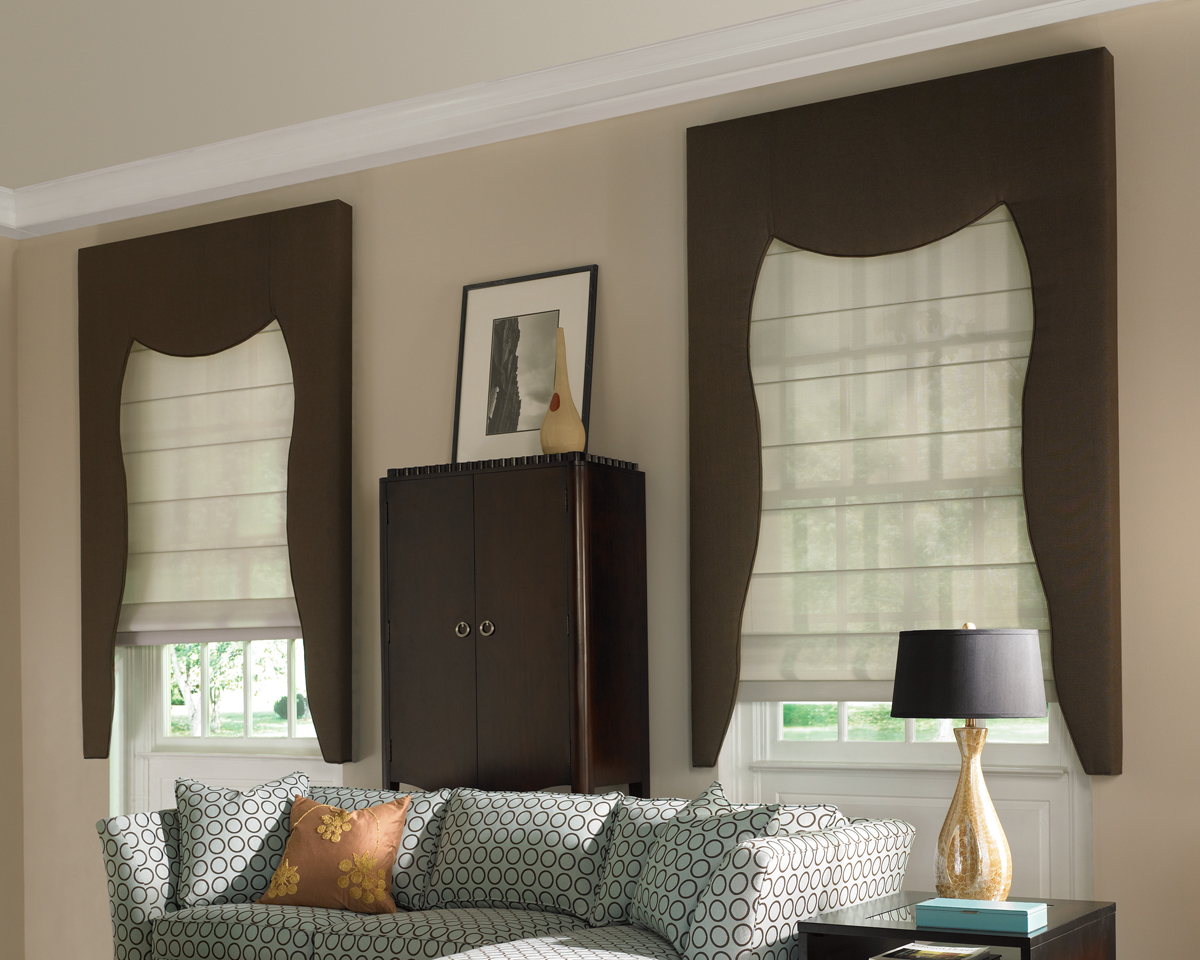 Custom drapery for blinds shades dallas richardson tx for Designer window treatments