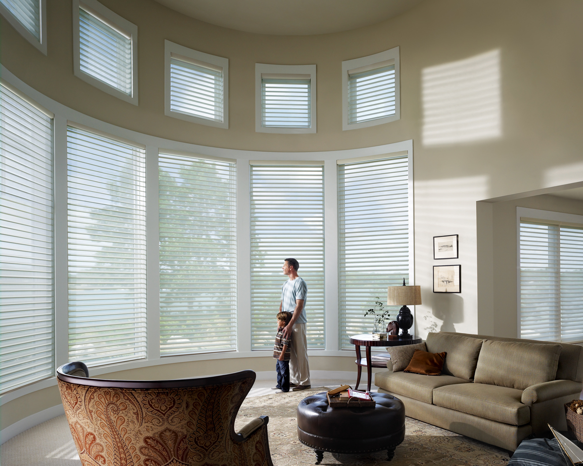 Motorize your window treatments dallas richardson tx for Motorized blinds shades