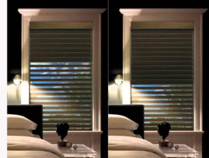 Two Shades In One Silhouette A Deux Window Shadings