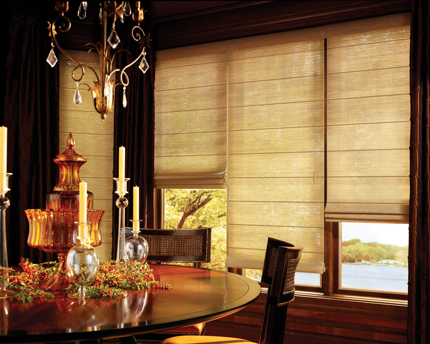 Natural Woven Wood Shades Ross Howard Dallas Tx