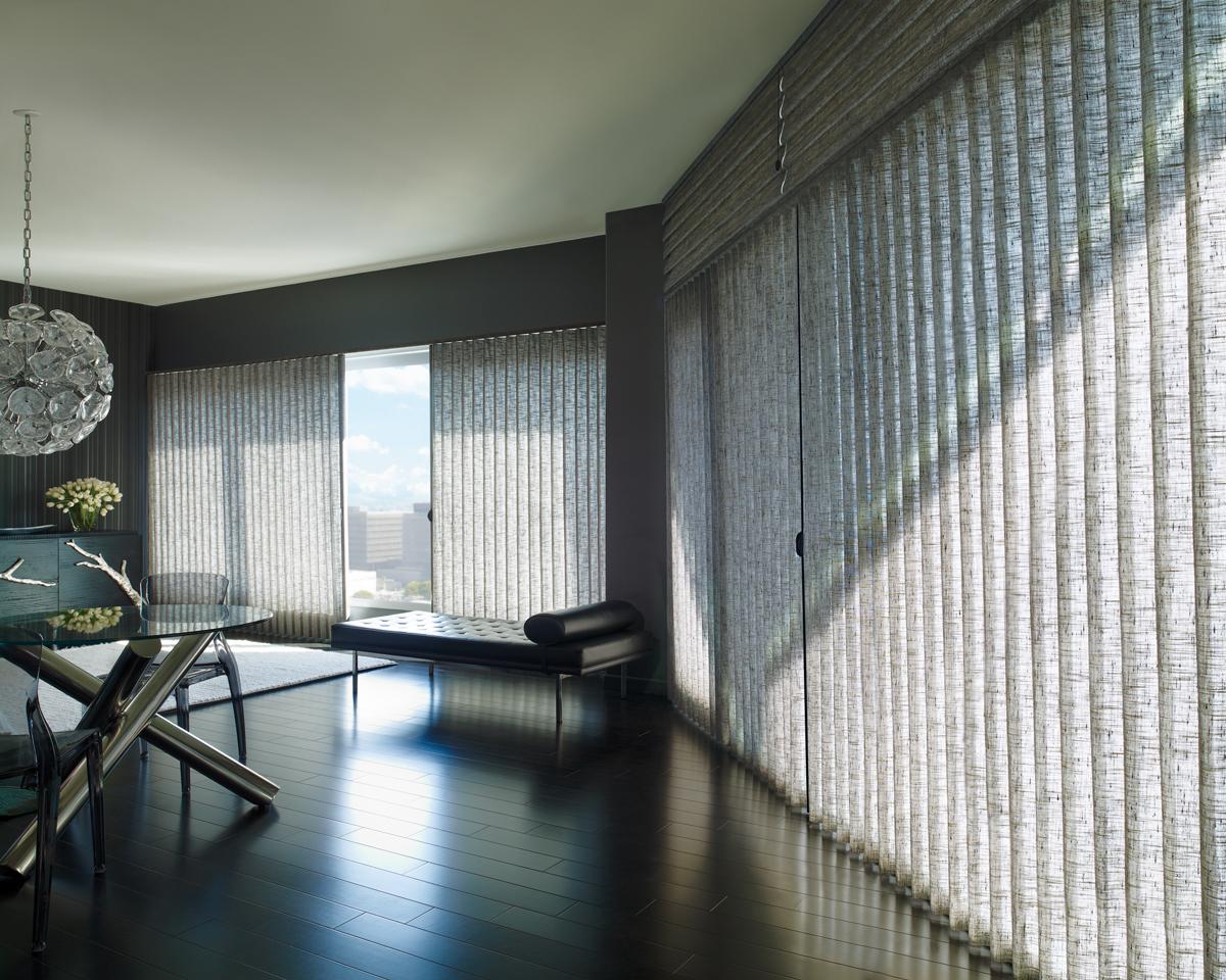 Hunter Douglas Vertical Blinds For Sliding Windows Dallas
