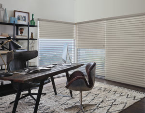 Motorized Shades Hunter Douglas Silhouette Shadings