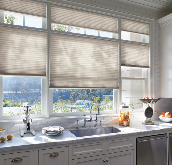 Duette Honeycomb Shades In The Kitchen